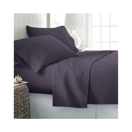 Becky Cameron Soft Comfort Resort Quality 6 Piece Bed Sheet Set   Twin Xl   Purple