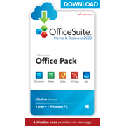 OfficeSuite Home & Business 2020 Compatible with Microsoft Office 365 and Adobe PDF - ACTIVATION CODE