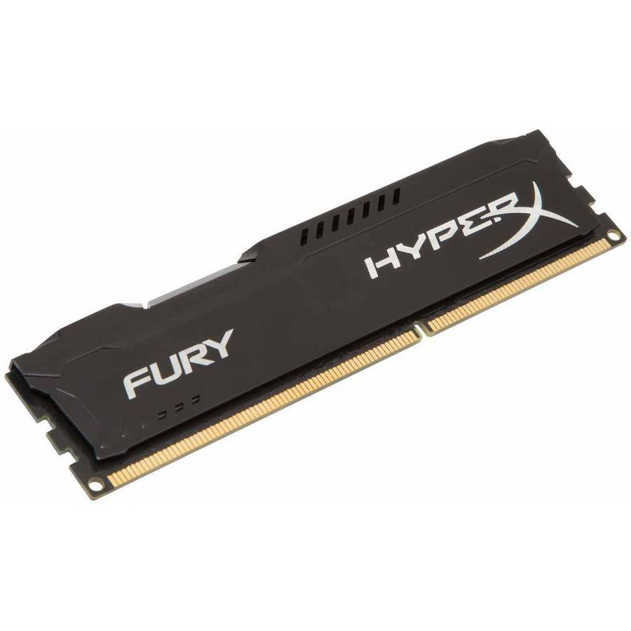 Kingston 8GB 1600MHz DDR3 Non-ECC CL10 DIMM HyperX FURY Black Series Memory Module