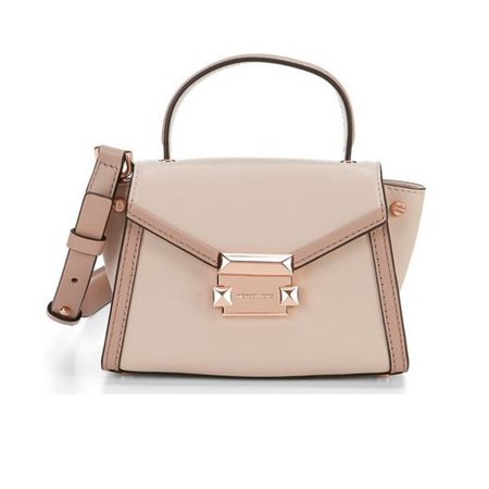 Colorblock Mini (MICHAEL Michael Kors Whitney Colorblock Mini Satchel  30T8TXIM0T-630)