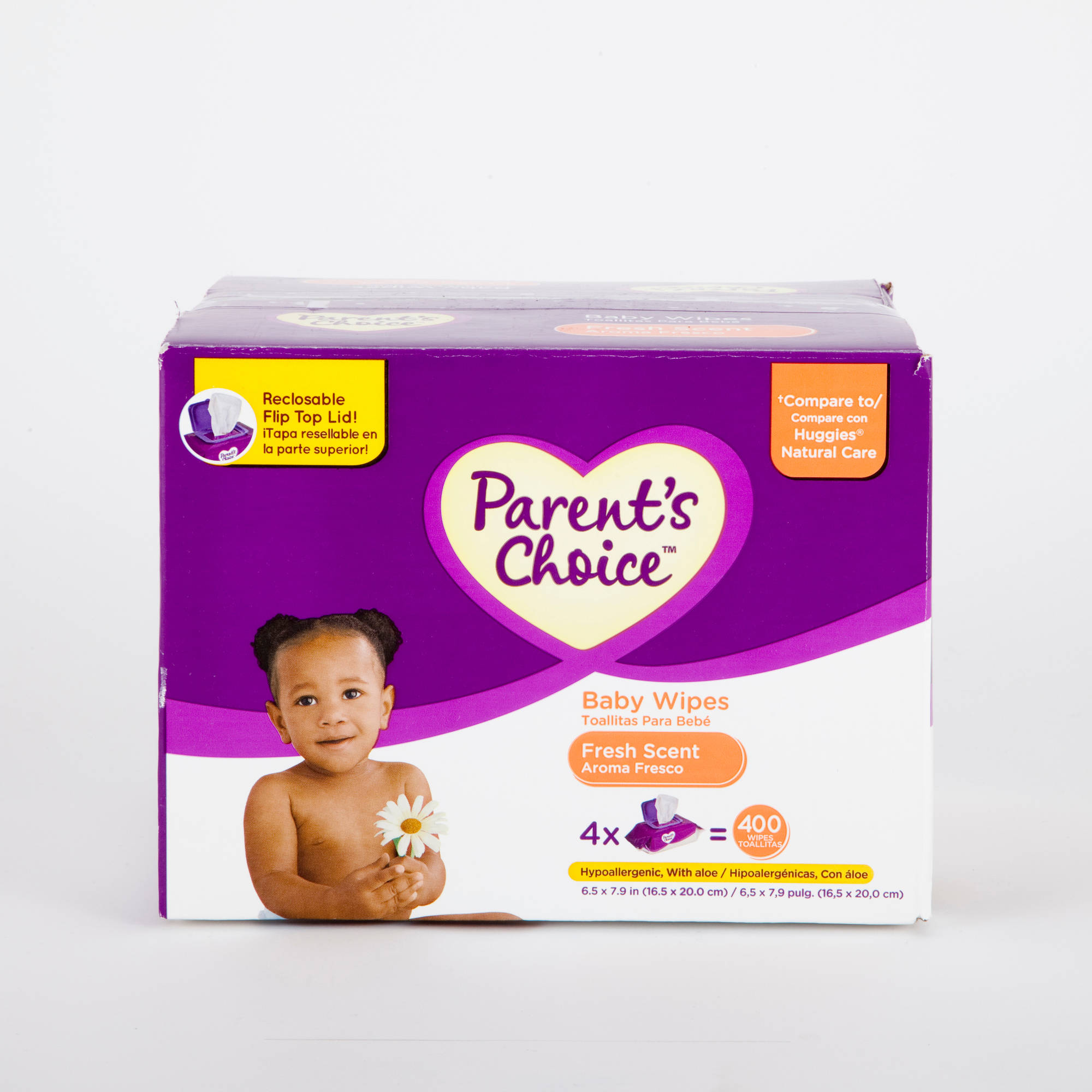 Parent's Choice - Scented Baby Wipes, 400ct