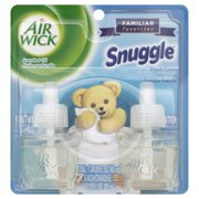 Air Wick Scented Oil Twin Refill Snuggle Fresh Linen (2X.67) Oz.