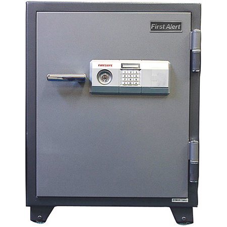 First Alert 3 12 Cu  Ft  Steel 2 Hour Fire And Anti Theft Safe  2700F
