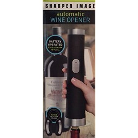 Sharper Image Automatic Wine Opener Walmartcom