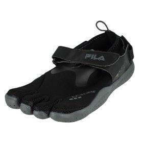Fila Skele Toes Ez Slide Drainage BlackRedCastlerock Mens Water Sports Size 10M