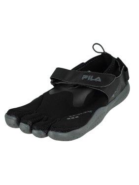 781610a2be82 Product Image Fila Skele-Toes Ez Slide Drainage Black Castlerock Mens  Running Size 8M
