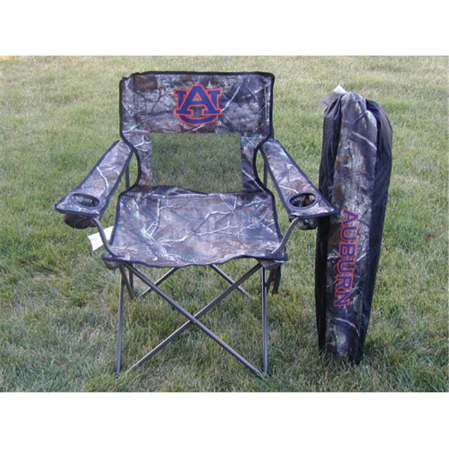 Rivalry Distributing RIV-RV115-1500 Auburn Tigers NCAA Ultimate Real Tree Camo Adult Tailgate Chair