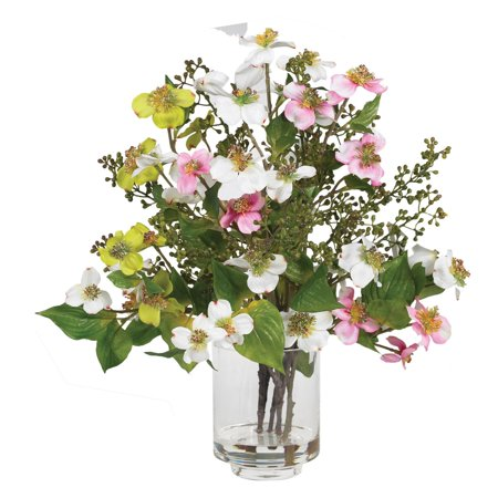 Dogwood silk flower arrangement walmart dogwood silk flower arrangement mightylinksfo