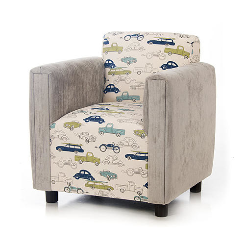 Glenna Jean Uptown Traffic Upholstered Modern Child's Chair
