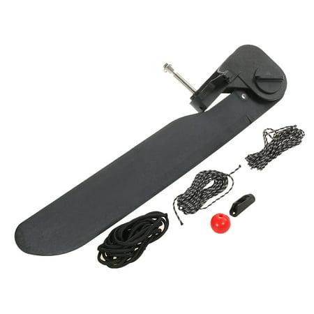 Canoe Kayak Boat Tail Kayak Rudder Direction Foot Control Steering System Tool Kit -  Anself