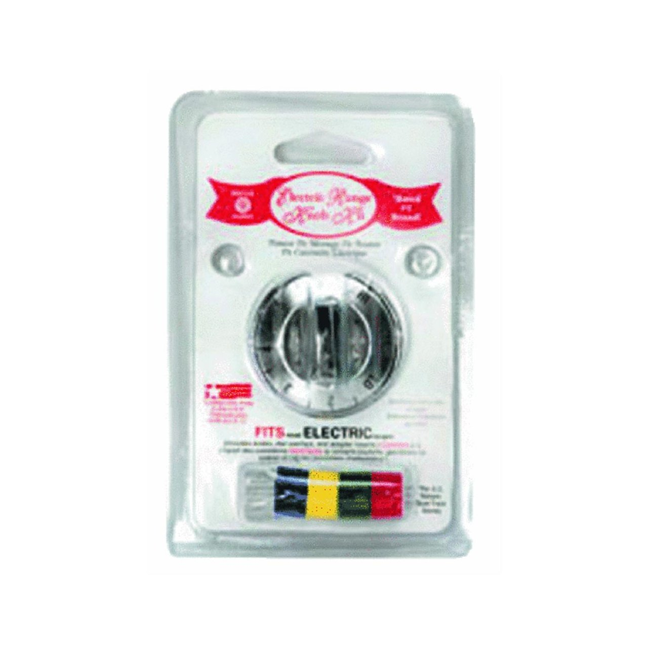 8121 Electric Range and Oven Replacement Knob Kit, Chrome, Electric range or oven