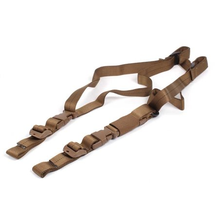 Cetacea Rabbit Convertable 2 Point Rifle Sling - Coyote (Best Rifle For Shooting Rabbits)