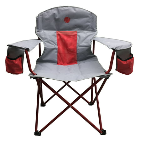 OmniCore Designs New Standard XXL Big & Tall Super Heavy Duty Padded Mesh Folding Camping Chair (500 lb. Capacity)