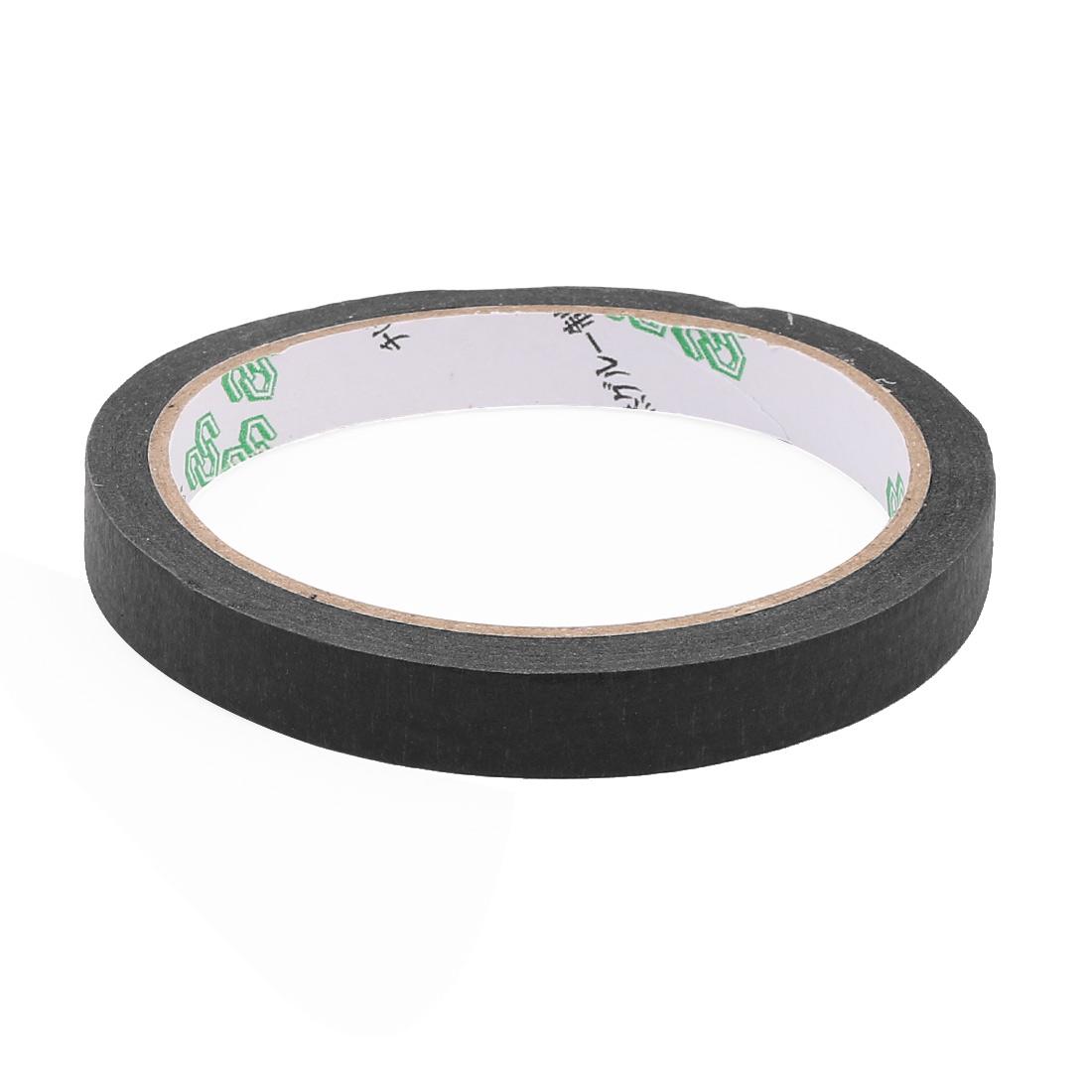 "Crepe Paper Black Easy Release Painters Masking Tape 22 yds Length x 0.5"" Width - image 2 de 3"