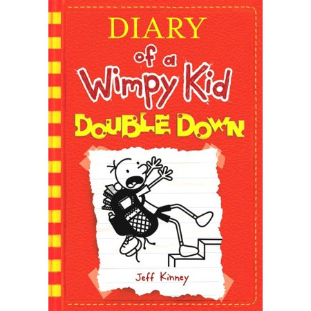 Diary Of A Wimpy Kid  Double Down  Book 11   Hardcover