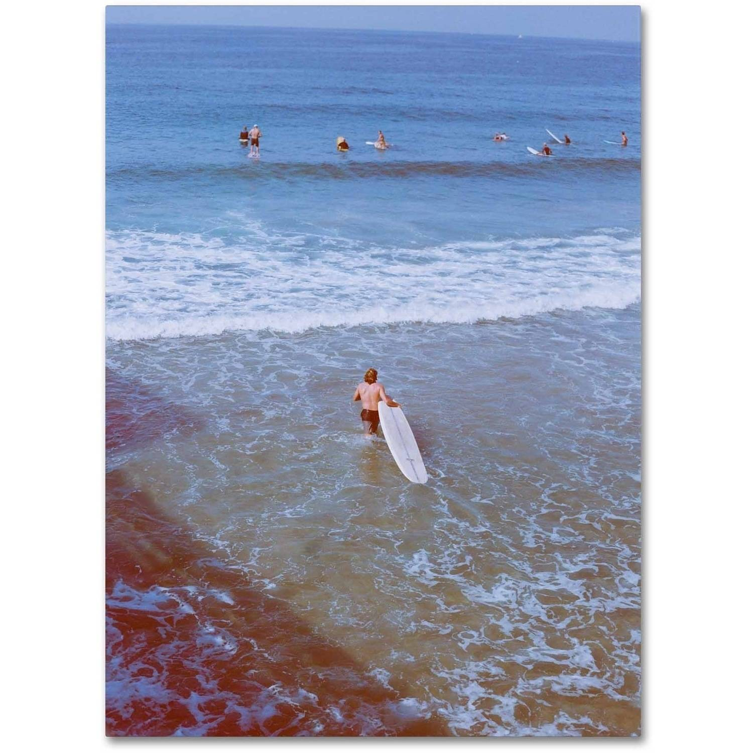Trademark Fine Art 'Surfer' Canvas Art by Ariane Moshayedi