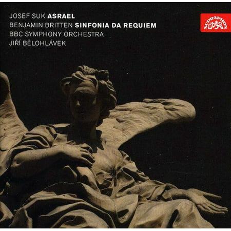 Suk/Britten - Josef Suk: Asrael; Britten: Sinfonia Da Requiem [CD]