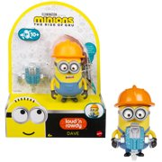 Minions Loud N' Rowdy Dave Character Toy For Kids Ages 4 Years & Up Action Figure Set
