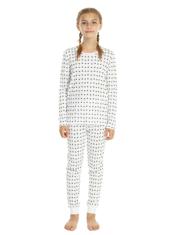 Girl's Two-Piece Feline Fine Pajamas Set