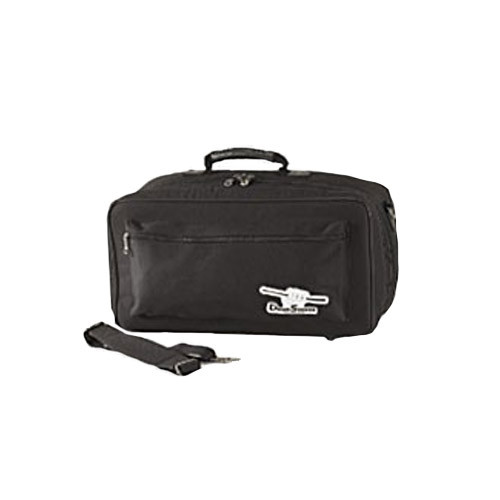 Humes & Berg Drum Seeker Bongo Bag Black 19x8x9 by Humes & Berg