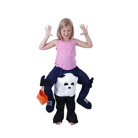 Piggyback Ride On Youth Panda Costume (Youth Panda Costume)