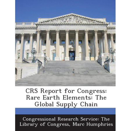 Crs Report for Congress : Rare Earth Elements: The Global Supply Chain