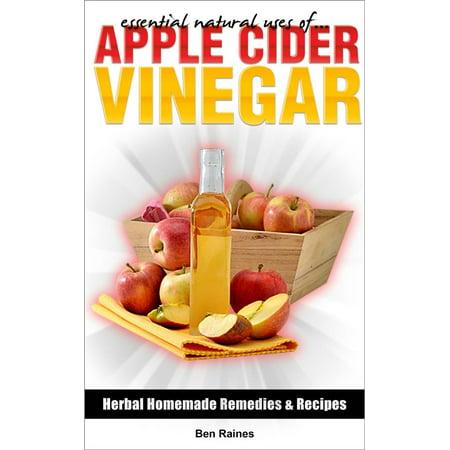 Essential Natural Uses Of....APPLE CIDER VINEGAR -
