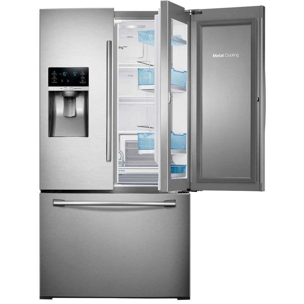 Samsung 278 Cu Ft Food Showcase French Door Refrigerator In