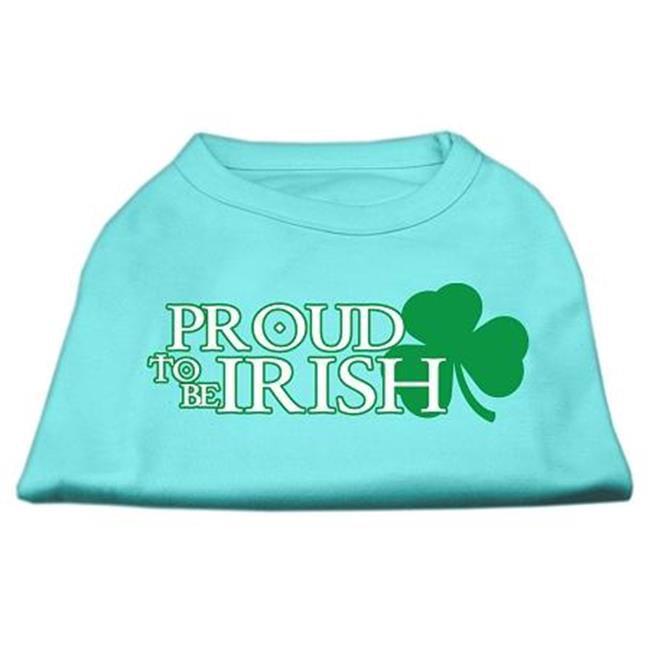 Mirage Pet Products 51-64 XXXLAQ Proud to be Irish Screen Print Shirt Aqua XXXL - 20 - image 1 de 1