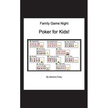 Family Game Night : Poker for Kids! - Poker Night Theme