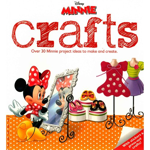 Disney Minnie Crafts: Over 30 Minnie Project Ideas to Make and Create