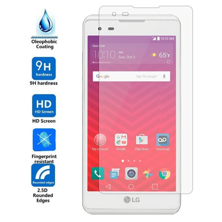 LG Tribute HD / X Style / LS676 Tempered Glass Screen Protector 6pc Tempered Glass