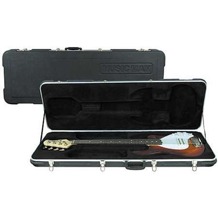 Ernie Ball Music Man 4980 Hardshell Case for StingRay 4 or 5-String (Best Strings For Musicman Stingray)