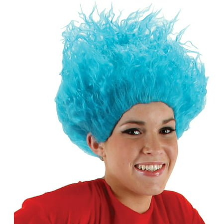 Dr. Seuss Thing 1/Thing 2 Wig Adult Halloween Accessory