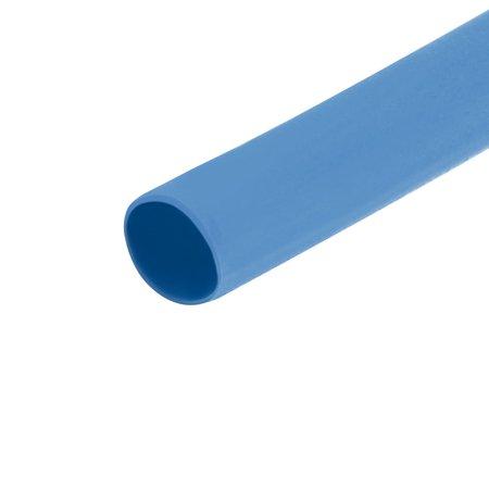 Heat Shrink Tube 2:1 Electrical Insulation Tubing Blue 1.5mm Diameter 10m Length