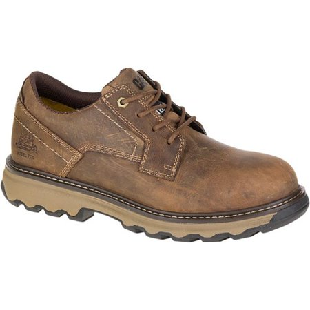 """CAT Footwear Tyndall ESD Steel Toe - Dark Beige 8.0(M) Mens Work Shoe"""