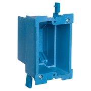 Carlon Super Blue BH118R Old Work Outlet Box, 1 Gang, 18 cu-in x 3-7/8 in L x 2-3/8 in W