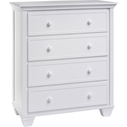 graco portland 4 drawer dresser white. Black Bedroom Furniture Sets. Home Design Ideas