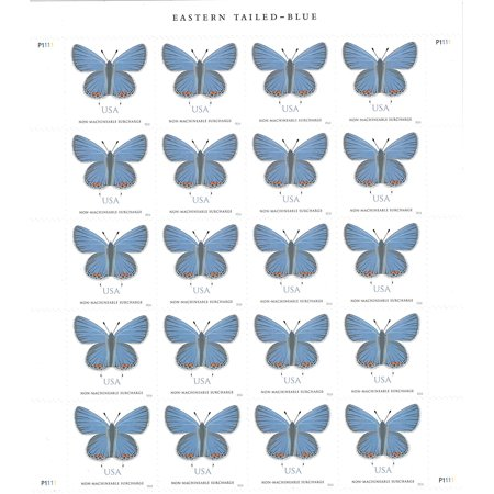 Eastern Tailed Blue Sheet Of 20 Stamps Two Ounce Forever Usps Postage