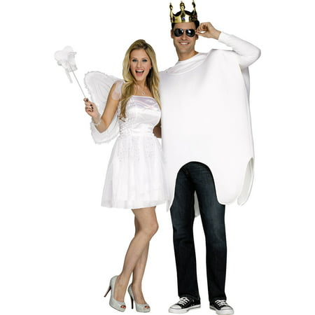 Tooth-Fairy Unisex Adult Halloween - Tooth Costumes
