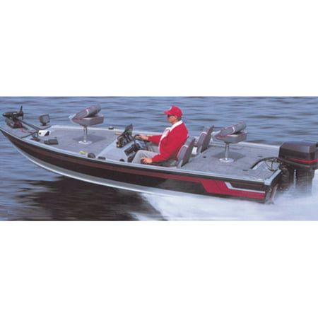 Carver Styled-to-Fit Cover for Extra-Wide Jon-Style Bass Boats, 17'6'