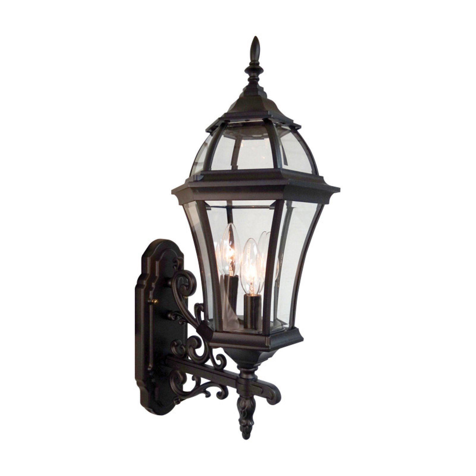 Special Lite Products Plantation F-2957 Bottom Mount Outdoor Wall Light