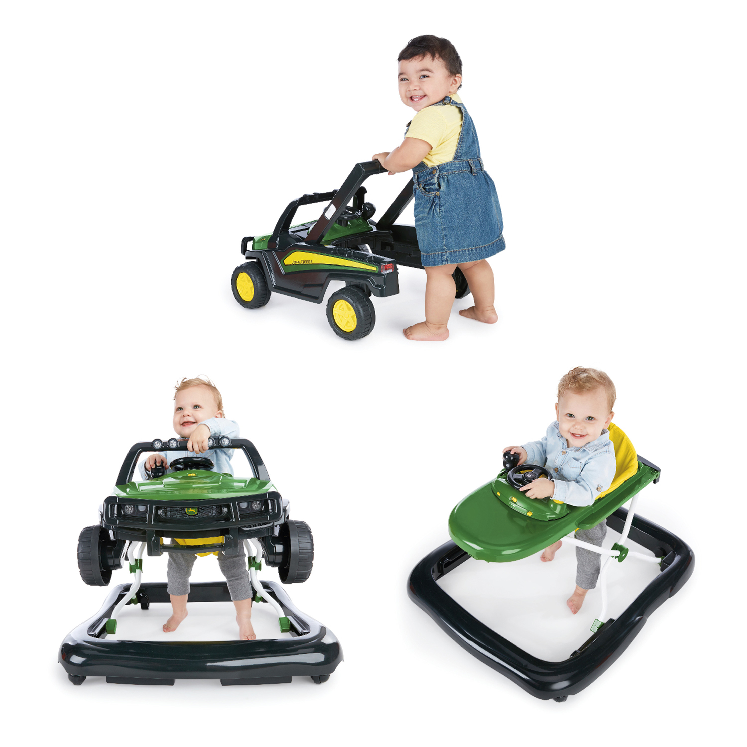 Bright Starts John Deere Gator 3 Ways to Play Walker Activity Station by Bright Starts
