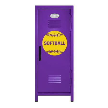 Softball Player Mini Locker Gift - 10.75