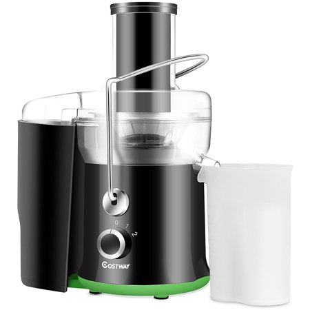 Costway Electric Juicer Wide Mouth Fruit & Vegetable Centrifugal Juice Extractor 2 Speed
