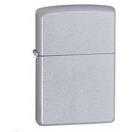 Zippo Windproof Satin Chrome? Pocket Lighter