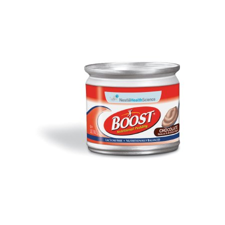 Oral Supplement Boost Nutritional Pudding Chocolate 5 oz. Cup Ready to Use 8 Pack