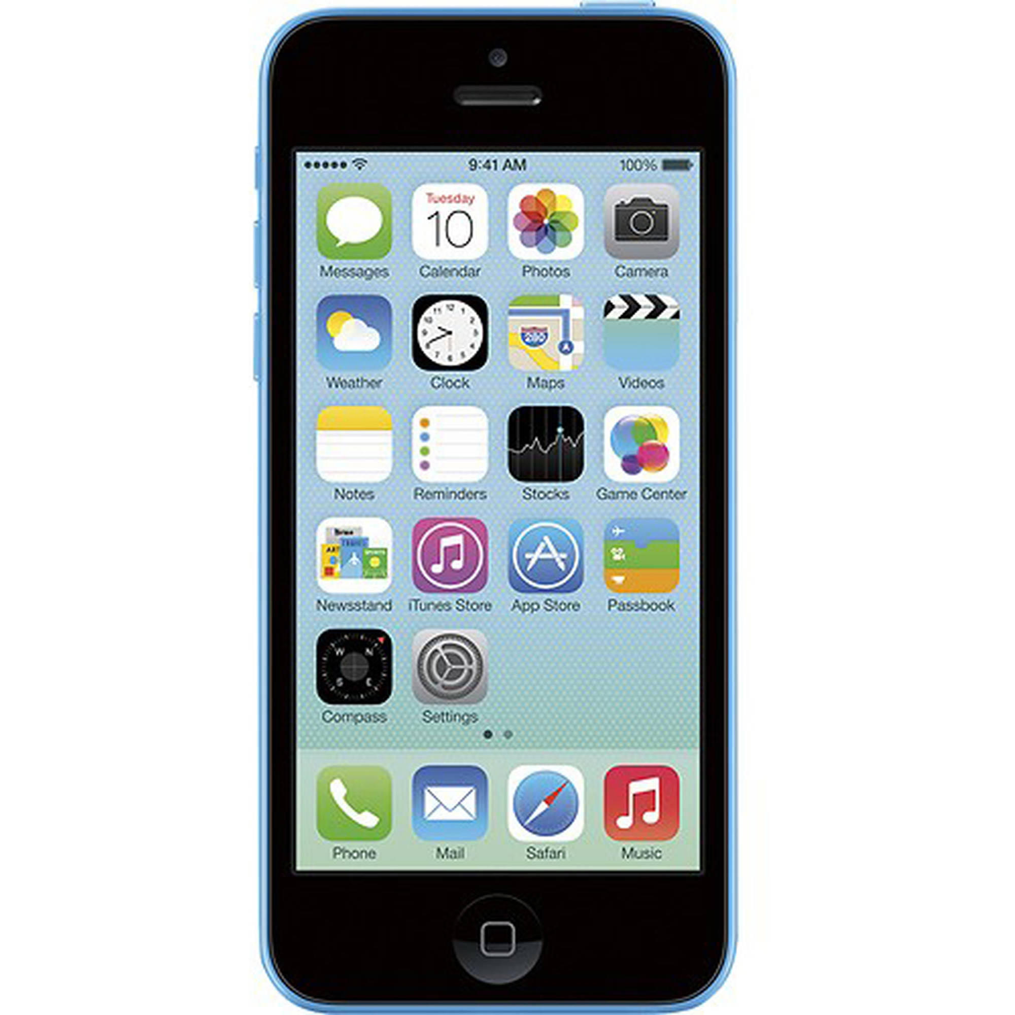 Refurbished Apple iPhone 5c 16GB, Blue - Unlocked GSM