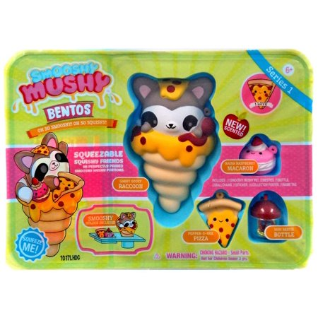 Smooshy Mushy Series 1 Checklist : Smooshy Mushy Series 1 Gabby Gooey Raccoon Playset - Walmart.com