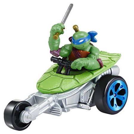 Teenage Mutant Ninja Turtles T-Machines Leonardo in Stealth Bike Diecast